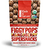 Made in Nature Organic Super Snacks, Mangoberry Figgy Pop, 20 Ounce