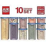 Amazon Com Oxo 10 Piece Good Grips Pop Containers Set