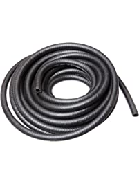 "HBD Thermoid NBR/PVC SAE30R7 Premium Fuel Line Hose, 3/8"" X 25' Length, 0.375"" ID, Black"