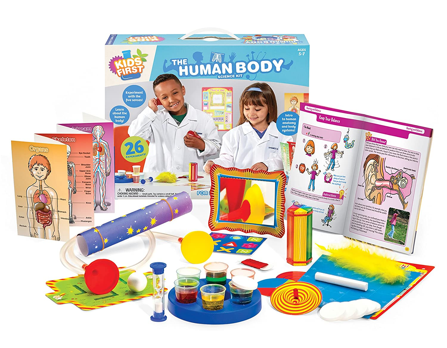Amazon.com: Kids First The Human Body Kit: Toys & Games