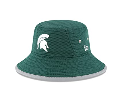 56b4939b131 New Era NCAA Michigan State Spartans Adult NE16 Training Bucket Hat