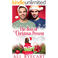 The Boss of Christmas Present: MM Holiday Romance book cover