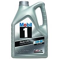 Aceite de motor Mobile 1Peak Life 5W-50, 5litros
