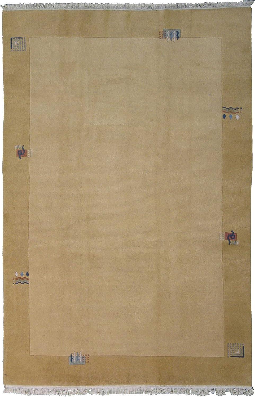 Nepal 302 x 205 cm, handgeknüpft, Flor 100% Wolle, ca. 160.000 Knotenperqm
