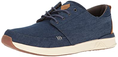 Reef Men's Rover Low Tx Fashion Sneaker, Navy/Denim, ...