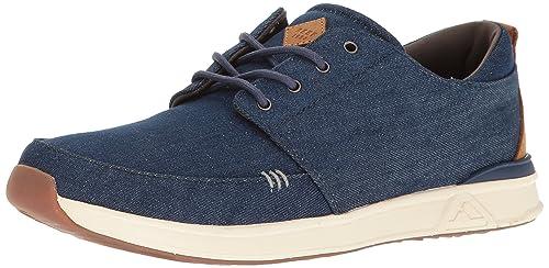 Reef Men's Rover Low Tx Fashion Sneaker, Navy/Denim, ...
