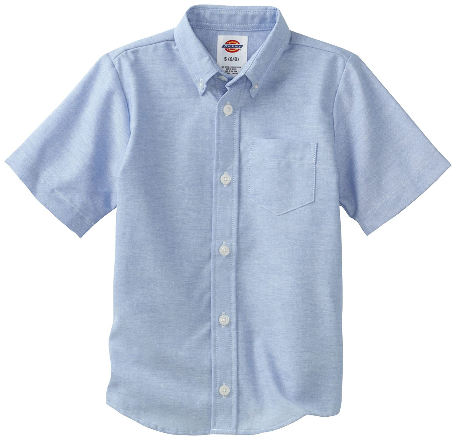 Dickies Boys Big Boys Short Sleeve Oxford Shirt Dickies Kids DIC-KS920