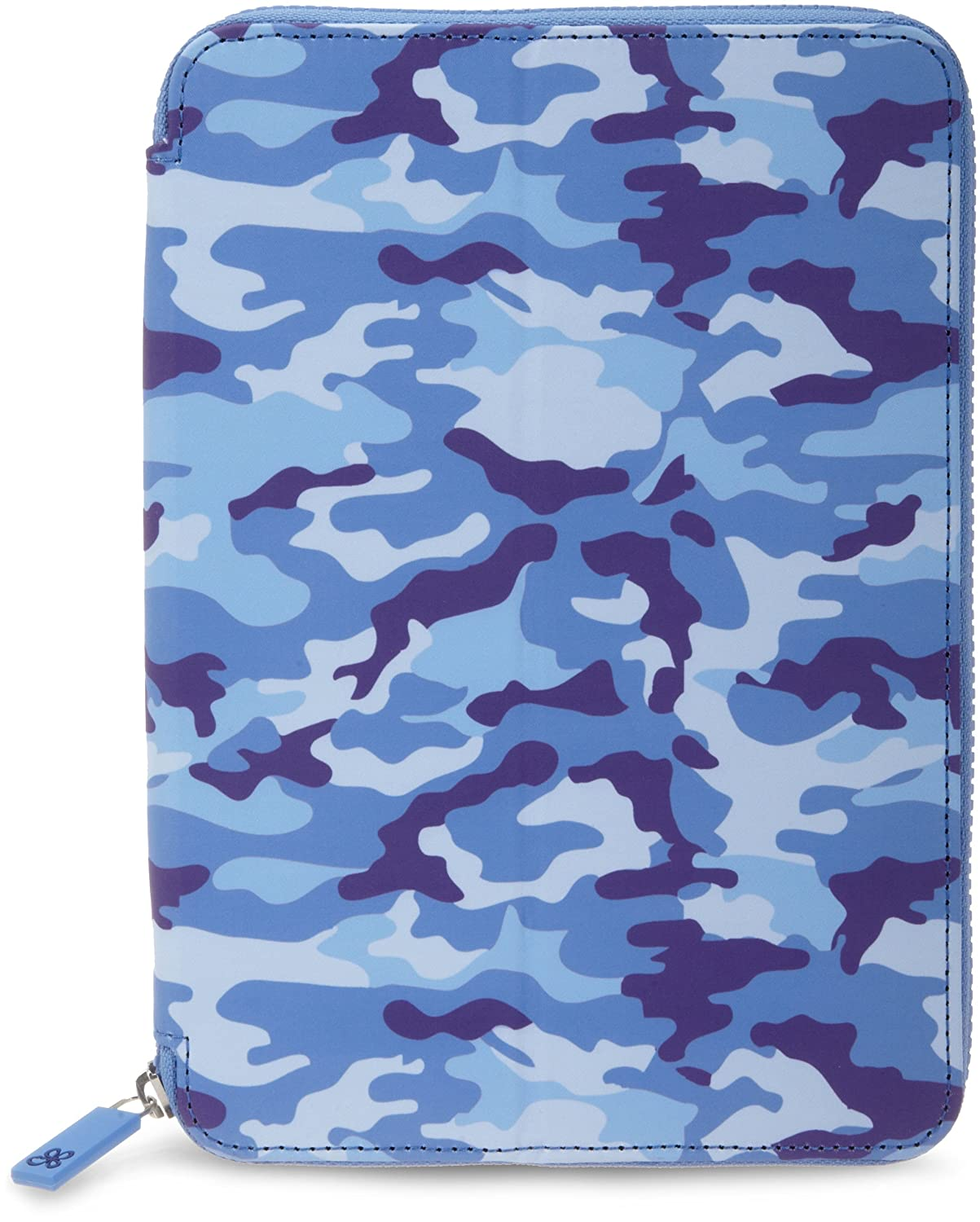Made for Kindle Fire HD 8.9 Blue Camouflage PUNCHCASE By Leslie Hsu Ace Zip Around Standing Case