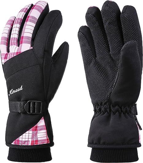 Women Men Thermal Insulated Fleece Warm Waterproof Winter Outdoor Ski Gloves UK