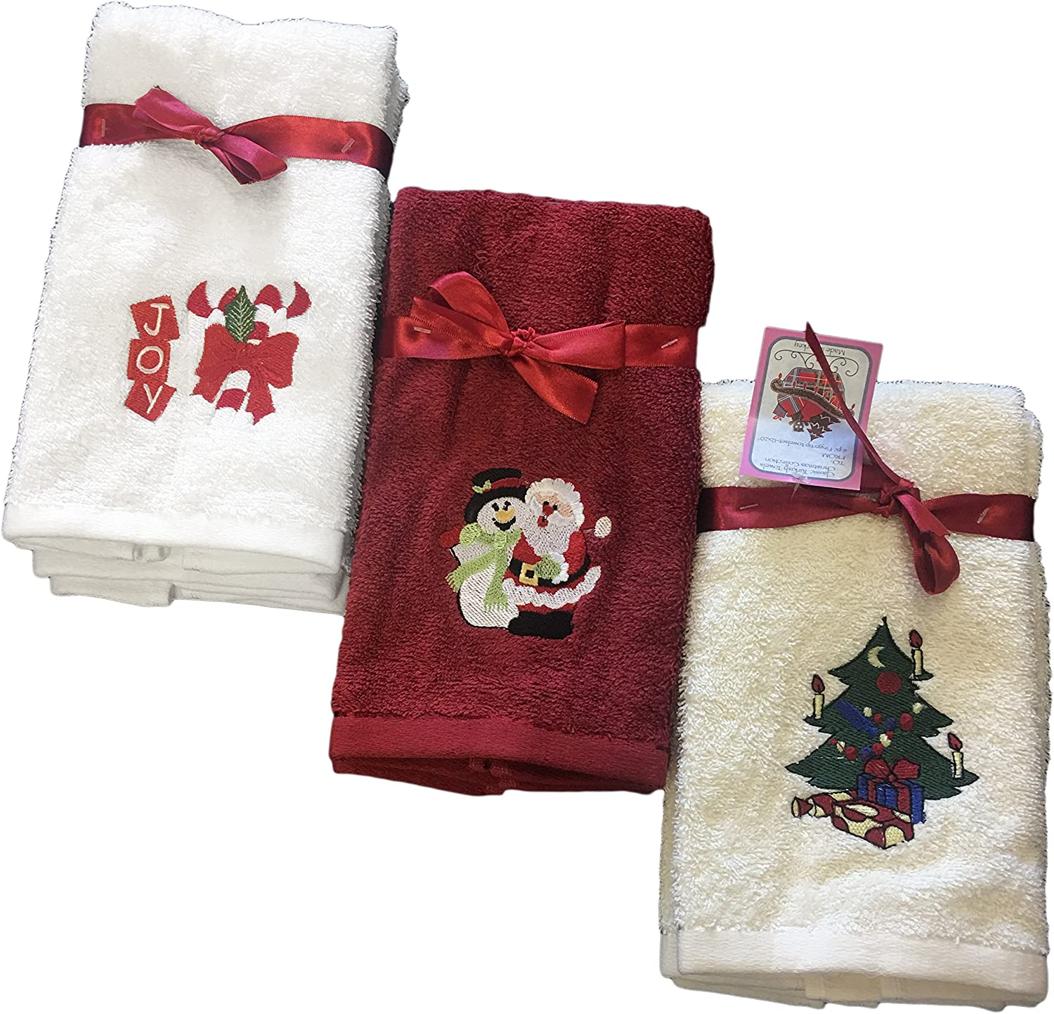 Classic Turkish Decorative Fingertip Towel Set