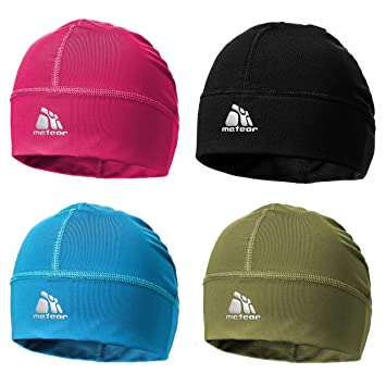 19fd246e1f628 meteor Beanie Hat Skull Cap Windproof Cycling Running Skiing Snowboard  Motorcycle Sports Under Helmet Antibacterial Quick Dry Stretchable Warm  Thermal ...