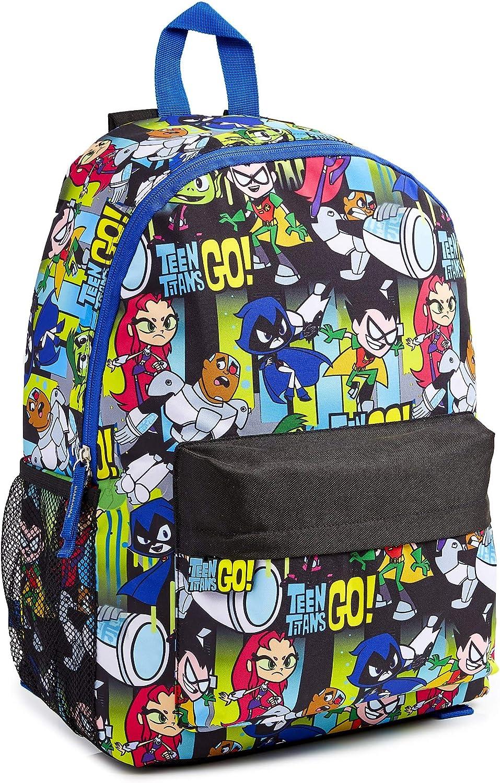 Teen Titans Go! Mochila Niño, Material Escolar para Niños, Mochilas Escolares Juveniles de Los Jovenes Titanes, Mochila Infantil para Deporte Viaje Colegio, Regalos para Niños Adolescentes