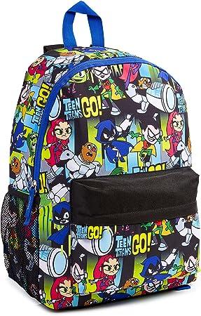 Teen Titans Go! Mochila Niño, Material Escolar para Niños, Mochilas Escolares Juveniles de Los Jovenes Titanes, Mochila Infantil para Deporte Viaje Colegio, Regalos para Niños Adolescentes: Amazon.es: Equipaje