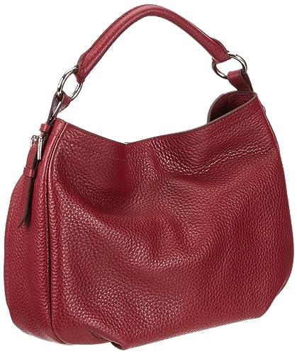 Tr Rot H2 Aisha Handtasche Small Damen Bogner Leather 0402075 0xwaFwT