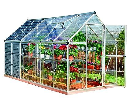 Palram Grow And Store 6u0027 X 12u0027, Greenhouse And Storage Shed