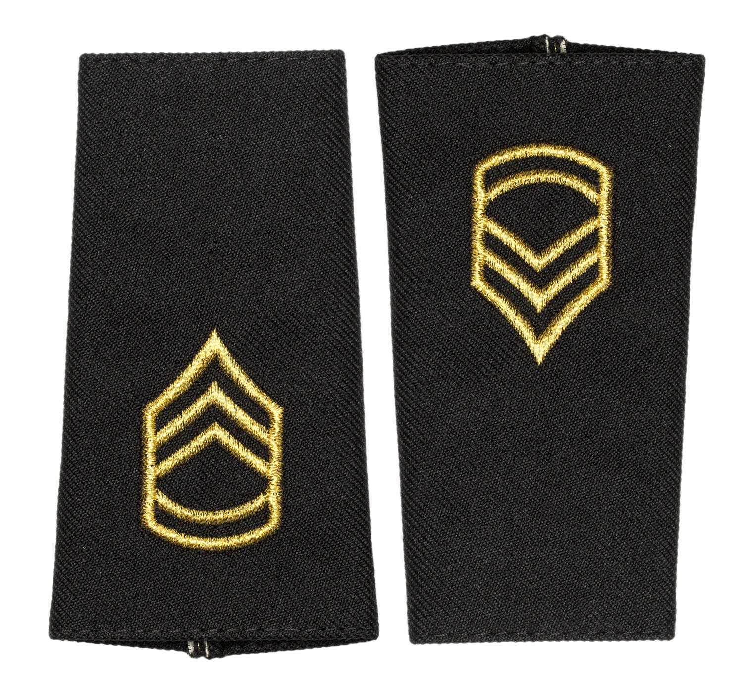 US Army Rank Tabs Long, Sergeant First Class (SFC)