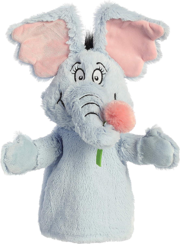 13 Horton Hand Puppet Dr Seuss Aurora Gray
