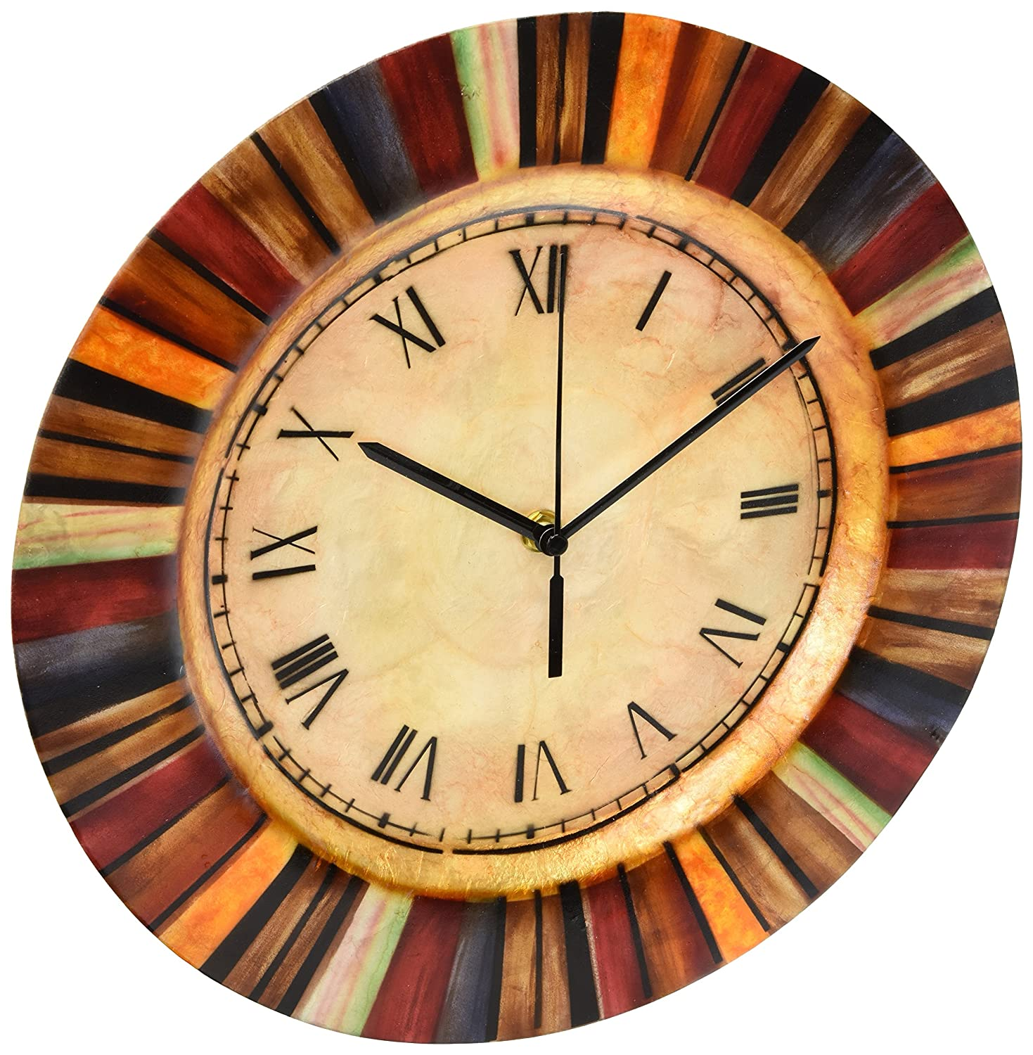 Amazon.com: Mother of Pearl Wall Clock: Home & Kitchen
