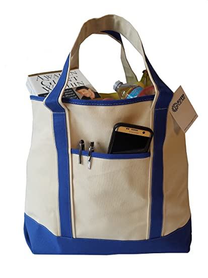 70649382a29be 22 quot  x 16 quot  Heavy Duty Deluxe Canvas Travel Tote Bag - Cotton