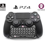 PS4 CONTROLLER KEYPAD - Official Sony PS4 Bluetooth Wireless Mini Keyboard KeyPad Adapter for PlayStation 4 DualShock Controller Sony Playstation