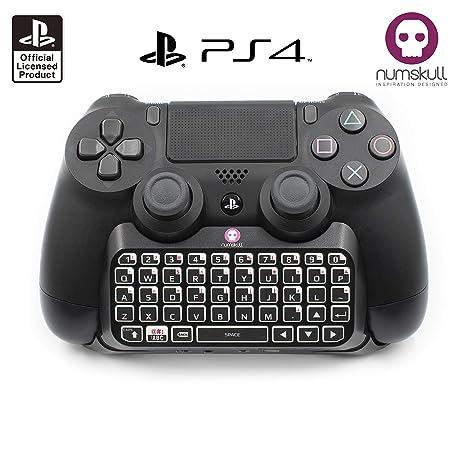 TECLADO del controlador PS4-Official Sony PS4 Bluetooth Wireless Mini teclado Keyboard adaptador para PlayStation