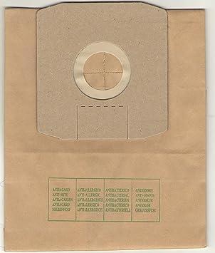 Elettrocasa DW2 Bolsa para el polvo accesorio y suministro de vacío - Accesorio para aspiradora (Bolsa para el polvo, Gris, Papel, DAEWOO FORTIS ...