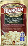 Idahoan Mashed Potatoes, Baby Reds with Roasted Garlic and Parmesan, 4.1 Ounce (Pack of 10)