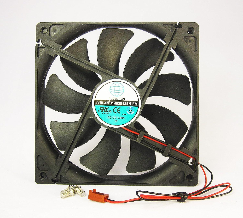 Amazon.com: 140mm 25mm New Case Fan 12V DC 153CFM CPU Computer ...