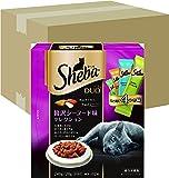 シーバ (Sheba) デュオ 成猫用 贅沢シーフード味セレクション 240g(20g×12袋入り)×12個 (ケース販売)  [キャットフード・ドライ]