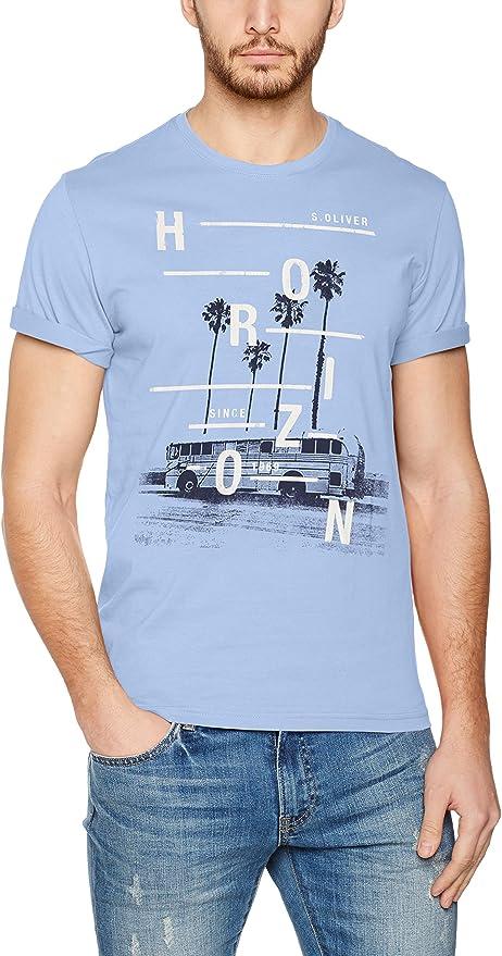 s.Oliver 13704324515 Camiseta, Azul (Blue Sky 5327), XXXL para ...