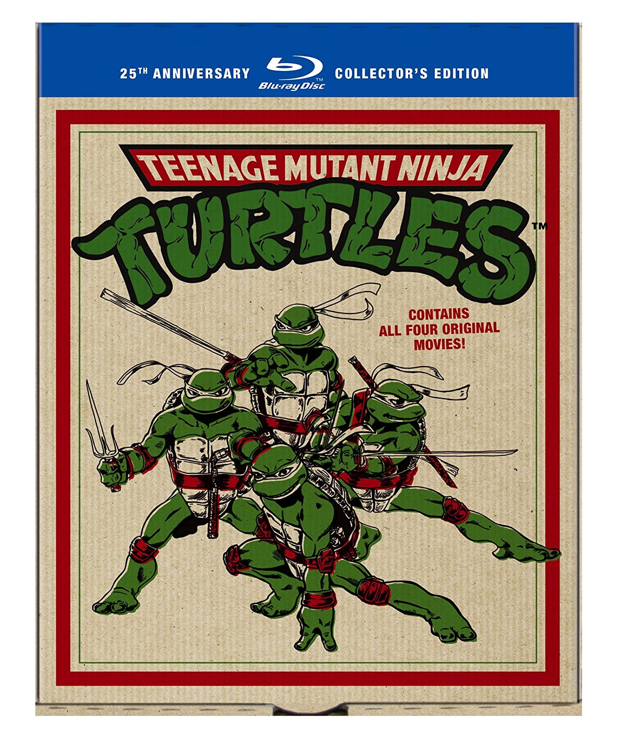 Teenage Mutant Ninja Turtles Film Collection Reino Unido Blu ...