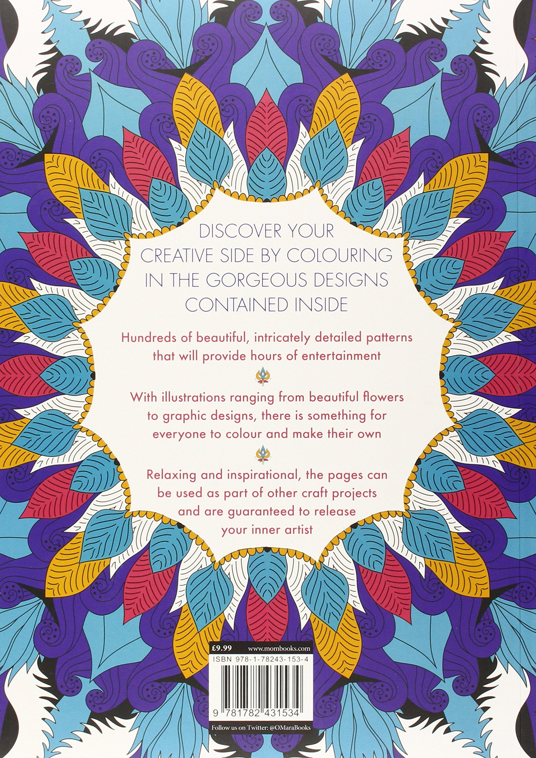 the gorgeous colouring book for grown ups discover your inner