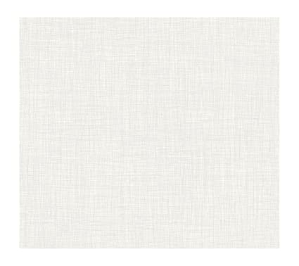 pure white wallpaper  York Wallcoverings KB8677 Bistro 750 Linen Prepasted Wallpaper ...