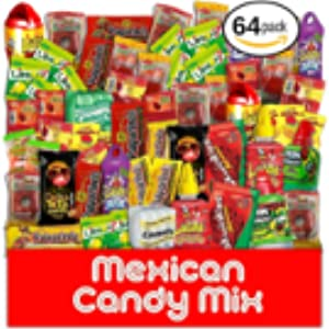 Amazoncom Mexican Candy Variety Care Package By Athomeplus 40