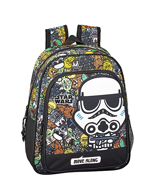 Star Wars Galaxy Oficial Mochila Escolar Infantil 270x100x330mm: Amazon.es: Ropa y accesorios