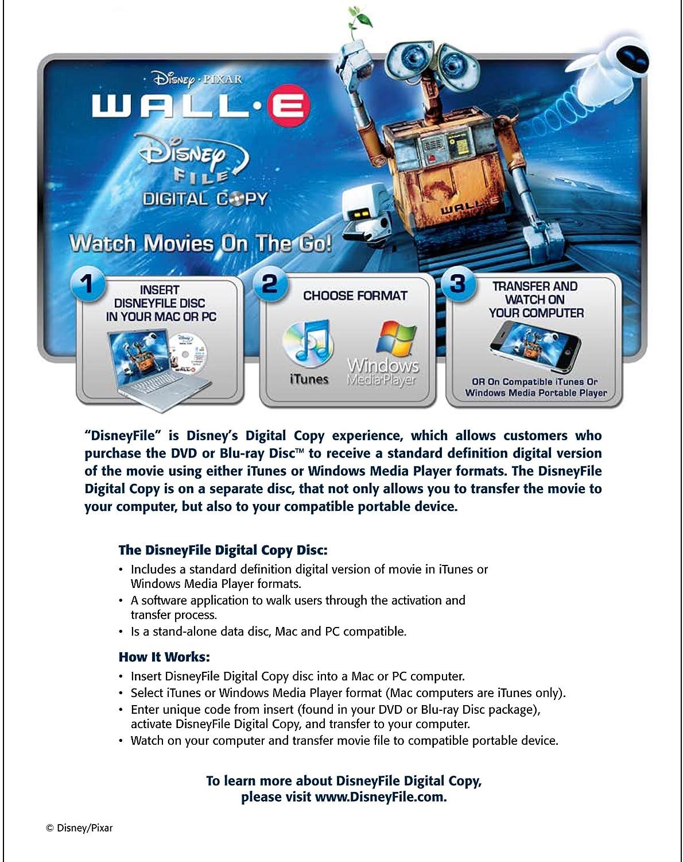 Amazon.com: Wall-E (Three-Disc...
