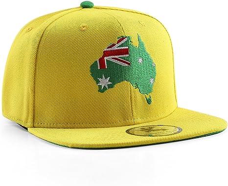 UNDERGROUND KULTURE Gorra de béisbol Amarilla del Snapback de ...