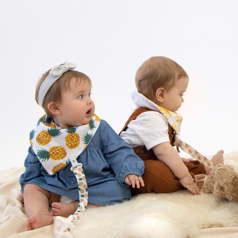 Kalamazoo Kangaroo Australia Custom Soft Waterproof Stain Odor Resistant Baby Feeding Dribble Drool Bibs Burp Cloth For Infant Overall For 6-24 Months Kid Gift