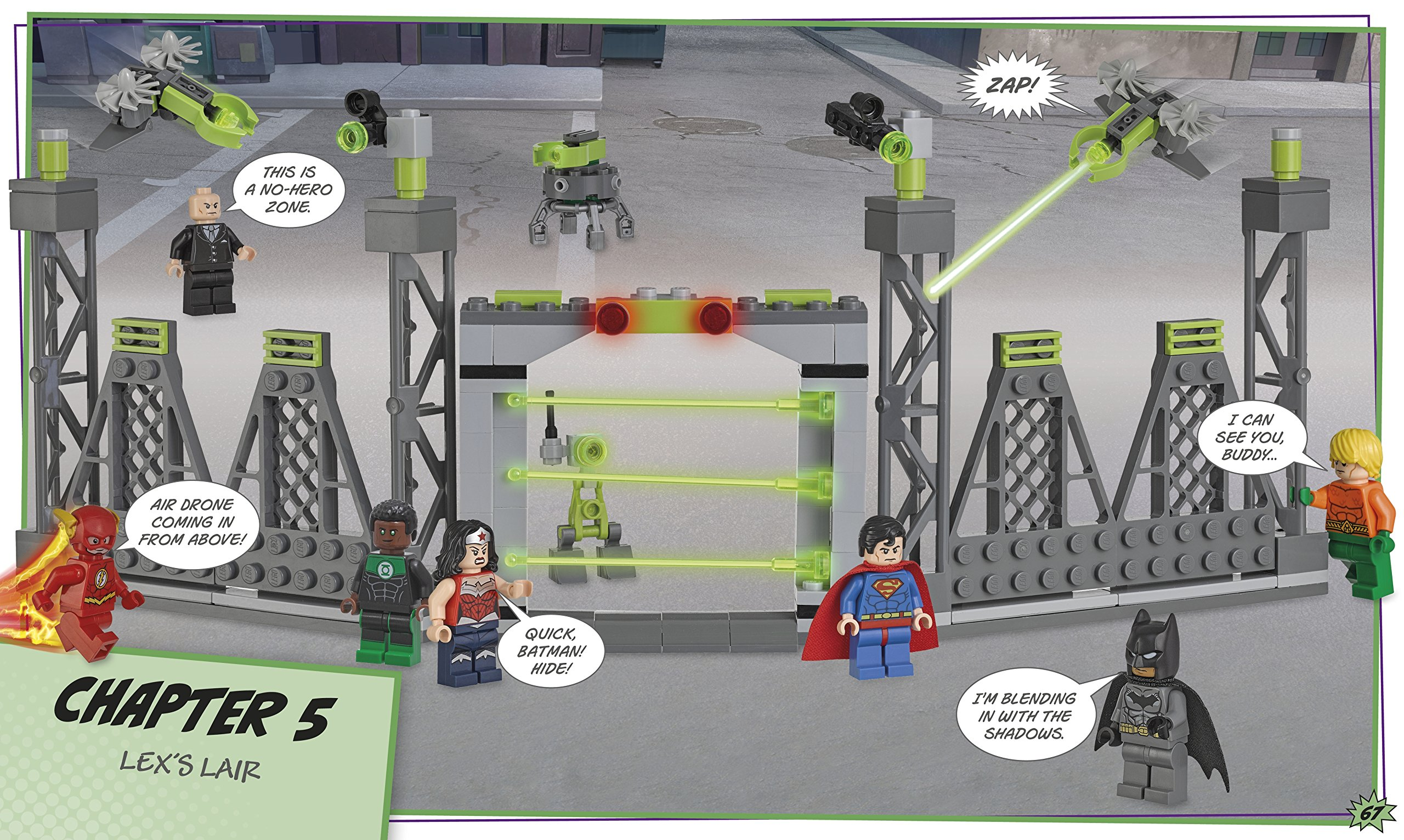 Lego DC Comics. Super Heroes. Build Your Own Adventure LEGO ...