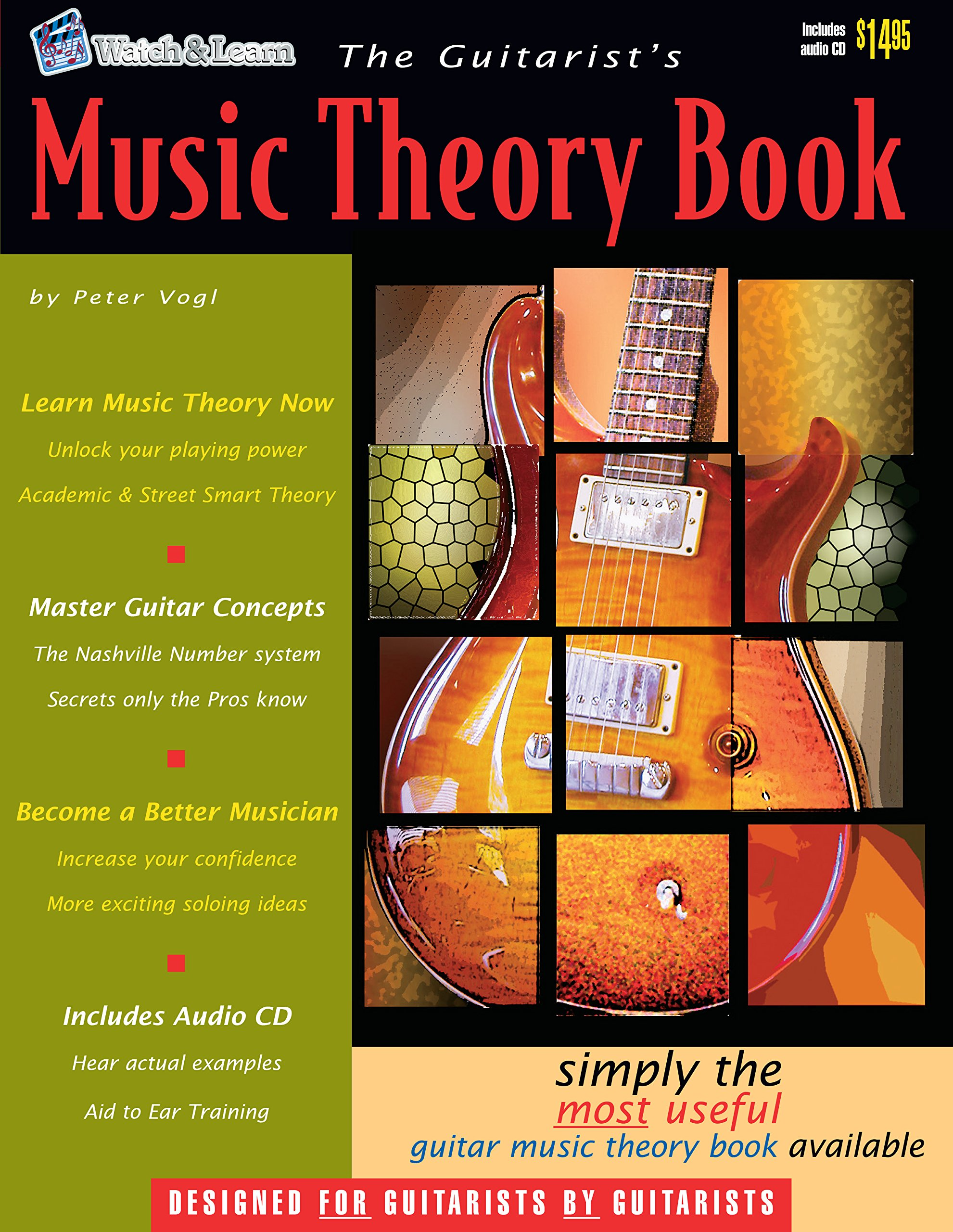 The Guitarists Music Theory Book The Most Useful Guitar Music