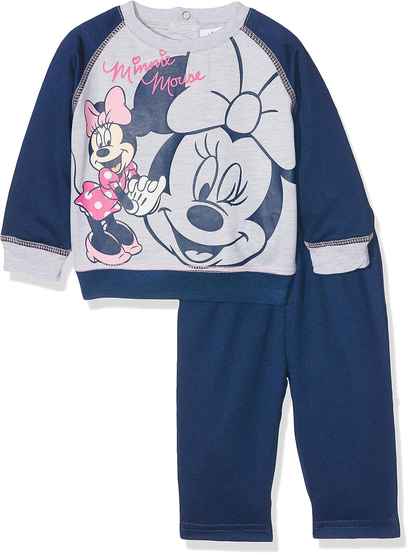 Disney Baby Minnie Ratón Chándal para Azul Azul Oscuro: Amazon.es ...