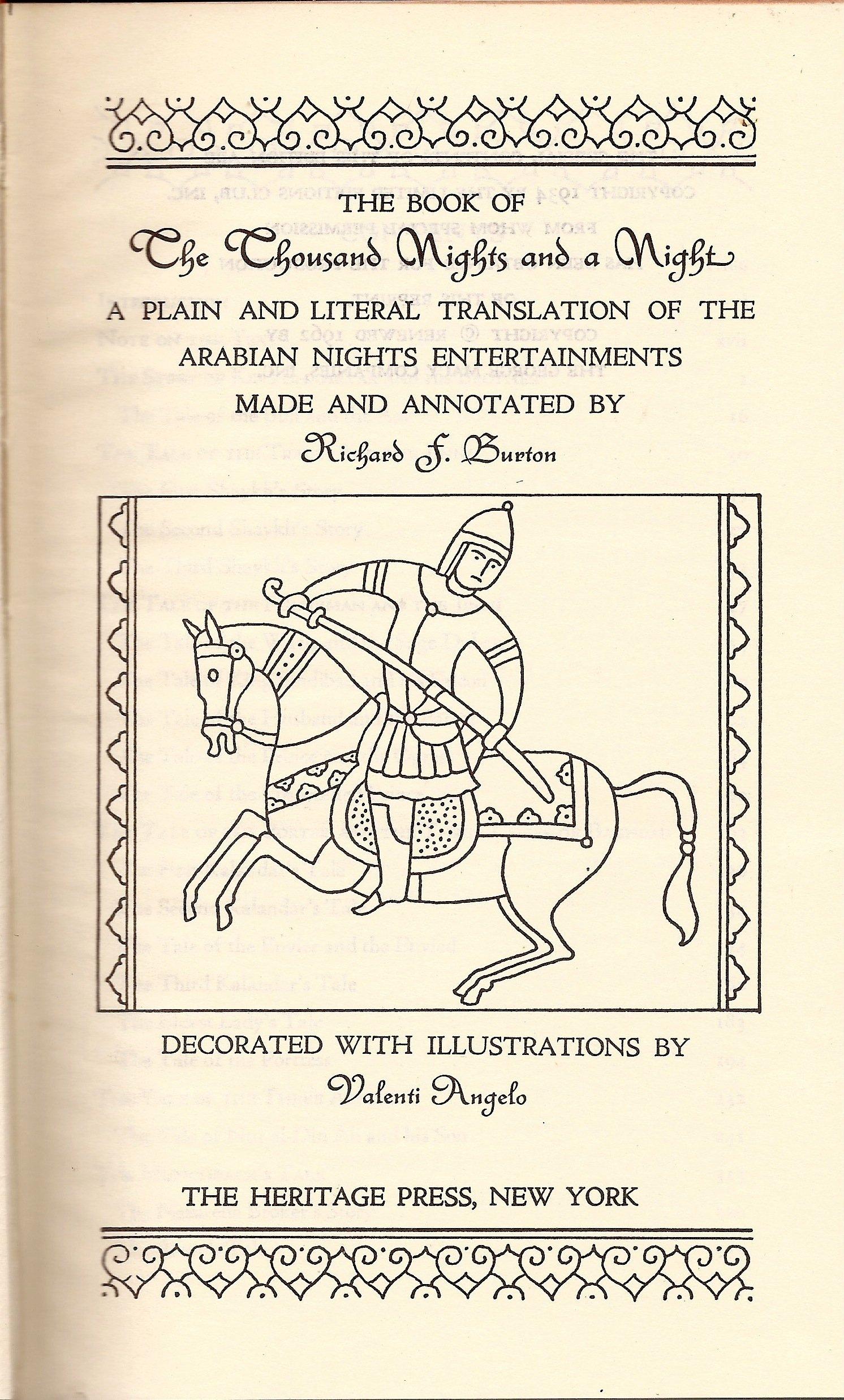 One Thousand And One Arabian Nights  Vol    Of     Forgotten Books  eBay