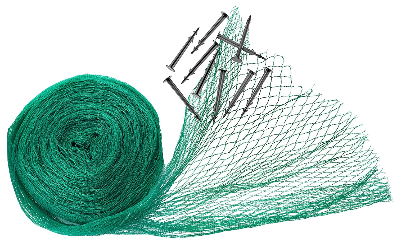 CON:P Garden netting with pegs 5 x 4 m | Plant protection | Garden mesh | Anti-Bird netting | Gardening | B46475 Conmetall