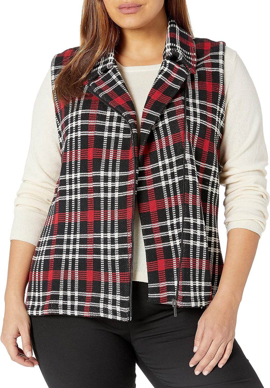 Chaps womens Plus Size Sleeveless Cotton-vest