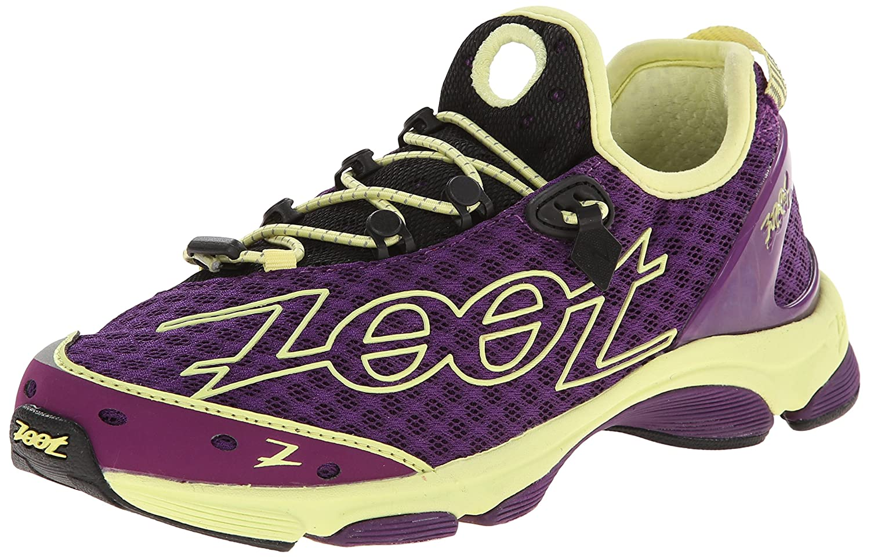 Amazon.com | Zoot Womens W TT 7.0-W, Deep Purple/Spring Green 11 M US | Running