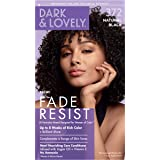 Permanent Hair Color by Dark and Lovely Fade Resist I Up to 100% Gray Coverage Hair Dye I Natural Black 372 I SoftSheen…