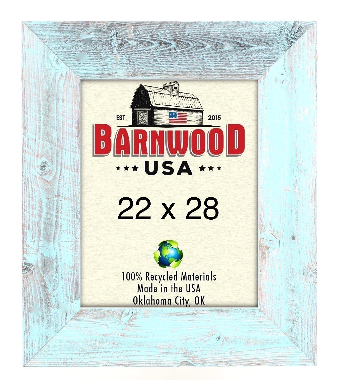 barnwoodusa | Farmhouse Bild Rahmen mit 7,6 cm Breite Rahmen | 100 ...