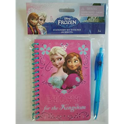"Disney Frozen Stationery Set with Pen(60 Sheets)- ""HOPE for the Kingdom"": Toys & Games"