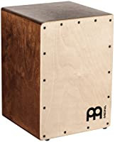 Meinl Cajon Box Drum with Internal Snares - MADE IN EUROPE - Baltic Birch Wood Compact Size