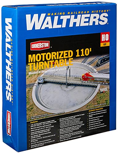 Walthers, Inc  Motorized Turntable Assembled Train, 16-7/16